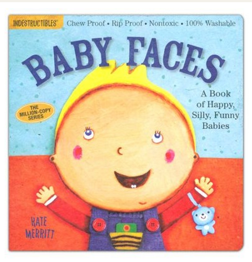 BOOK, BABY FACES, Indestructibles - 12 Pages