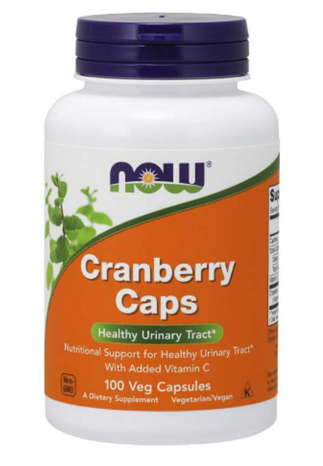 CRANBERRY CONCENTRATE, Now Foods, 100 vcap