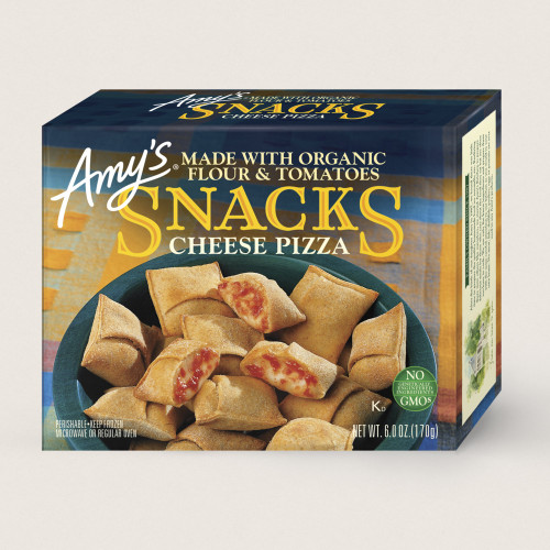 *SALE* SNACK SIZE POCKET CHEESE PIZZA, Amy's - 6 OZ Frozen