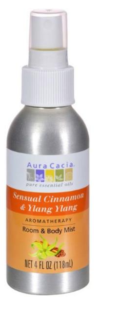 AROMATHERAPY MIST, Cinnamon Ylang Ylang, Aura Cacia 4 oz