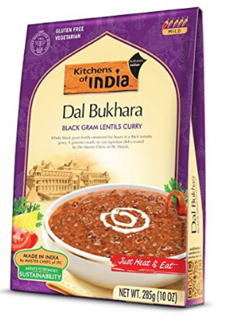 BLACK GRAM LENTILS CURRY, 10 oz DAL BUKHARA
