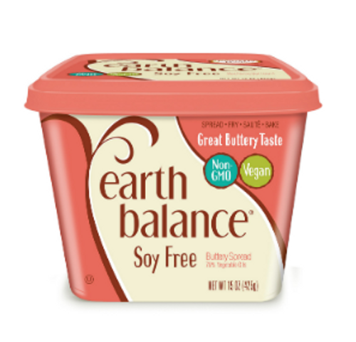 BUTTERY SPREAD, SOY FREE,  EARTH BALANCE, 15 oz