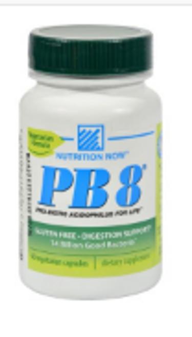 PB8 VEGETARIAN PROBIOTIC, Nutrition Now, 60 VCAPS