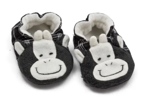BABY BOOTIES, Upavim Crafts - Cow