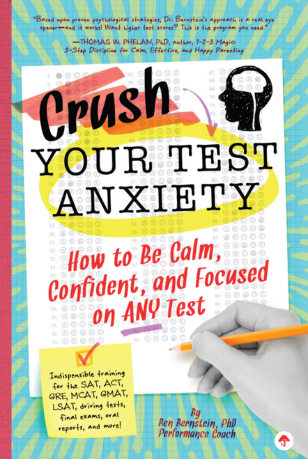 BOOK, CRUSH YOUR TEST ANXIETY, Workman Publishing - 288 Pages