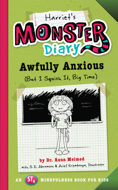 BOOK, HARRIET'S MONSTER DIARY, Workman Publishing - 116 Pages