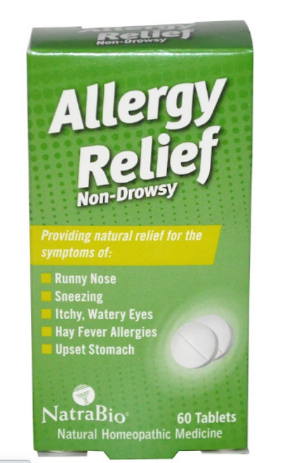 ALLERGY RELIEF, 60 Tab, Natrabio