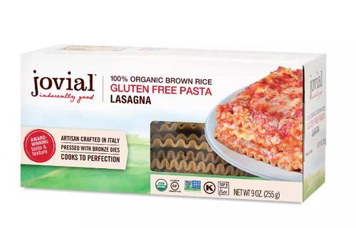 LASAGNA PASTA, BROWN RICE, Organic, Gluten-free,  9 OZ