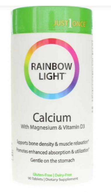 CALCIUM FOOD-BASED, Rainbow, 90 tab