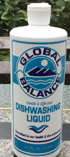 DISHWASHING LIQUID, Global Balance, 32 fl oz
