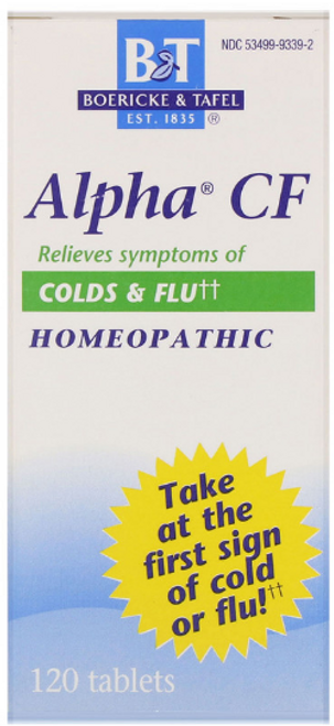 ALPHA CF (Cold & Flu) B&T, 120 tablets