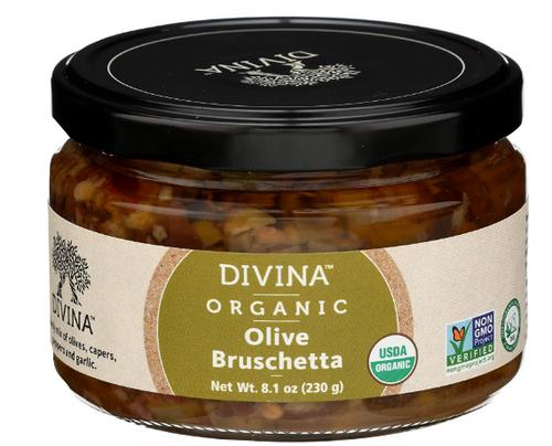 BRUSHETTA, OLIVE, Organic, 8.1 OZ