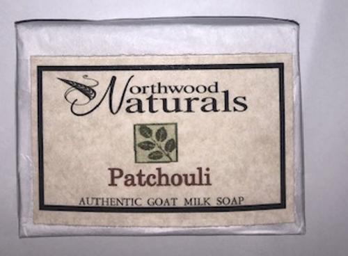 BAR SOAP, PATCHOULI  Goat Milk. NORTHWOOD NATURALS,    4.5 oz