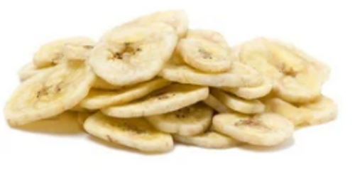 BANANA CHIPS DRIED UNSWEETENED