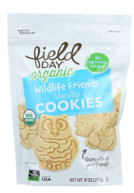 COOKIES, WILD FRIEND VANILLA,  Organic,  Field Day, 8 oz
