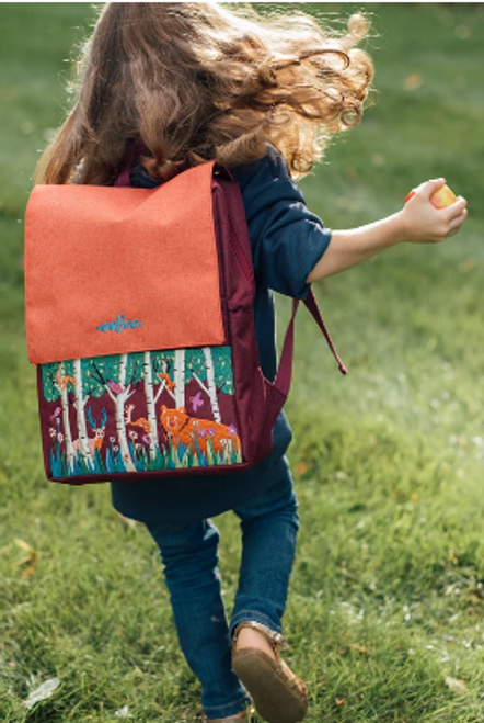 *DEAL* BACKPACK, Small, BEAR IN THE WOODS, Eeboo - Each