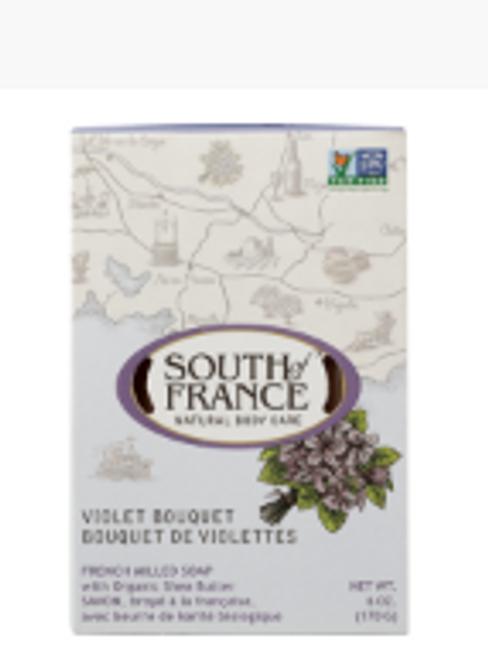 BAR SOAP, Violet Bouquet, 6 oz