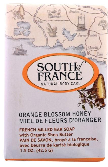 BAR SOAP, Orange Honey- TRAVEL SIZE,  1.5 oz