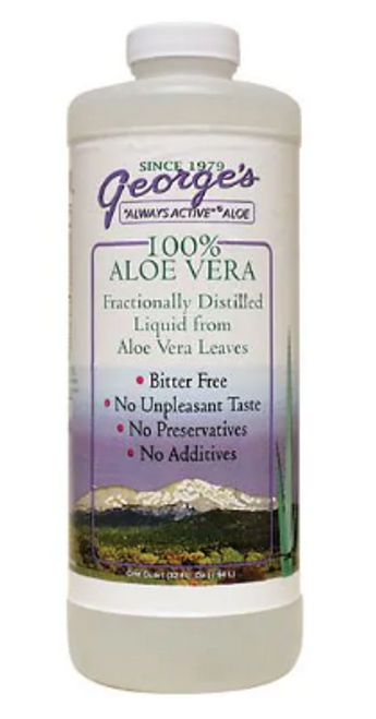 ALOE LIQUID, George's 32 fl oz