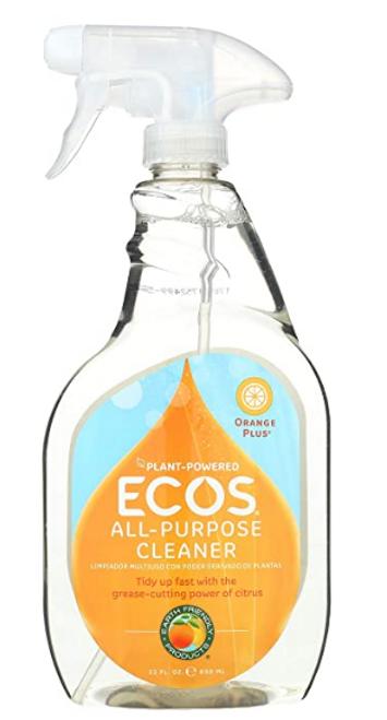 CLEANER, ORANGE, ALL-PURPOSE, Ecos, 22 fl oz