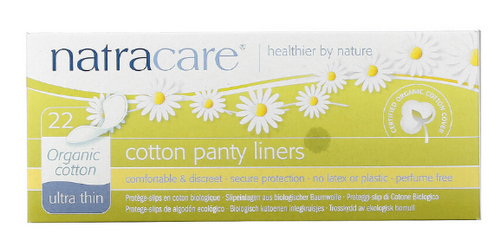 PANTY LINERS, Ultra Thin, Organic, NATRACARE,    22 each
