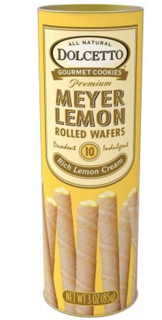 DOLCETTO WAFERS, LEMON , 3 OZ TIN