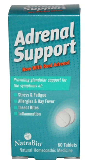 ADRENAL SUPPORT, Natrabio, 60 tabs