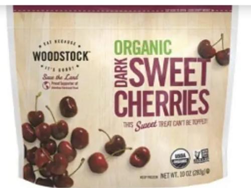 CHERRIES, SWEET DARK, Organic, WOODSTOCK, 10 oz