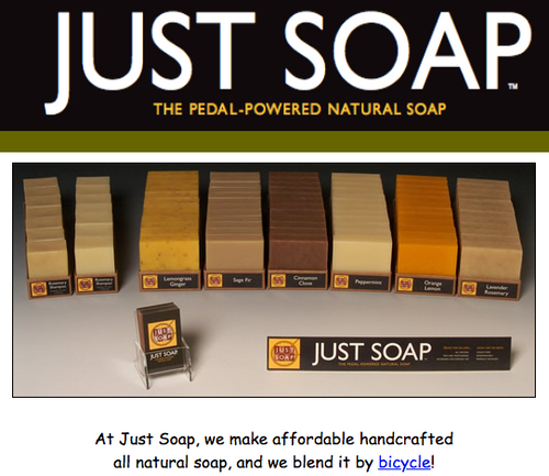 JUST SOAP, ORGANIC SOAP, Local - 3.5 oz bar