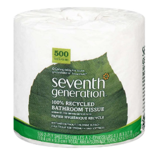 BATH TISSUE (1 roll) 2 PLY 500 sheets