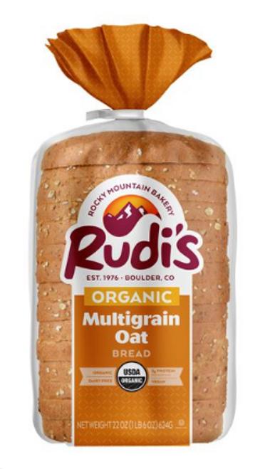 BREAD, MULTIGRAIN OAT, Organic, Rudi's,   22 oz