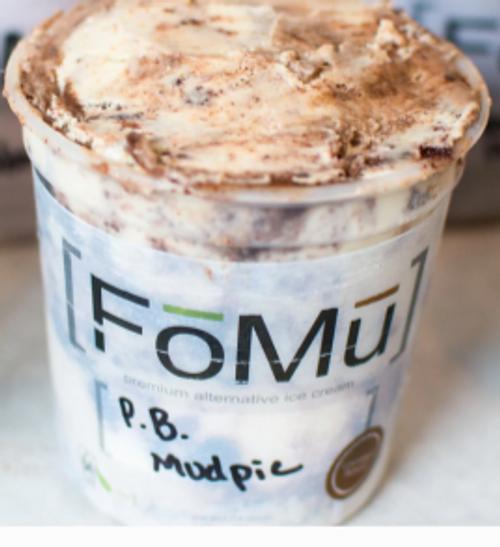 ICE CREAM, Non-Dairy, Peanut Butter Chocolate, FoMu, 1 pint