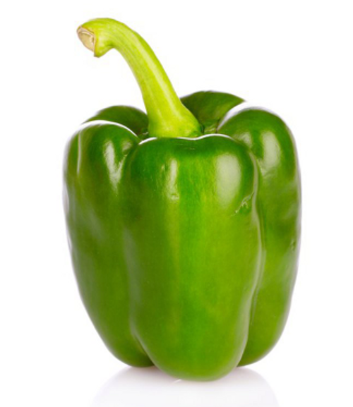 PEPPERS, GREEN, Conventional  -  EACH