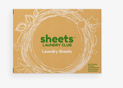 LAUNDRY SHEETS - 50 sheet box (No plastic)