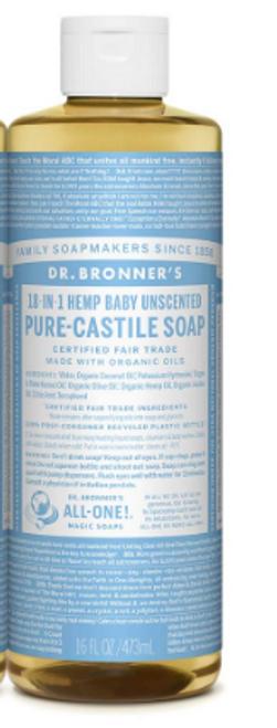 CASTILE SOAP, BABY MILD, Dr. Bronner's,   16 fl oz