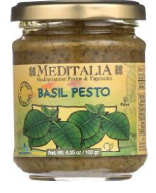 BASIL PESTO, 6.35 oz JAR