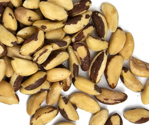 BRAZIL NUTS, Raw, Unblanched, Organic -  4 oz; 8 oz; 1 lb