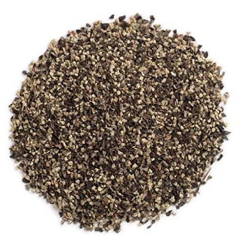BLACK PEPPER, Medium Grind, Fair Trade, Organic, 2 oz bag