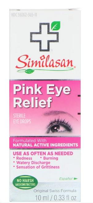 IRRITATED EYE RELIEF, (pink eye), Similasan, 10 mL