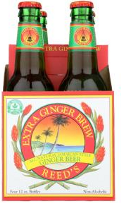 4pk GINGER BEER EXTRA 4 PACK incl 20 cents dep
