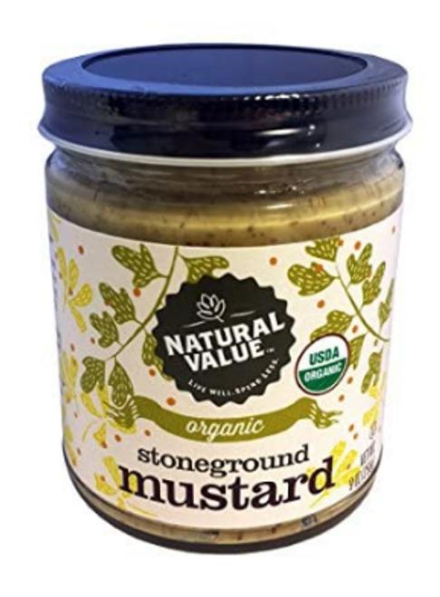 MUSTARD, STONEGROUND, Organic, 8 oz