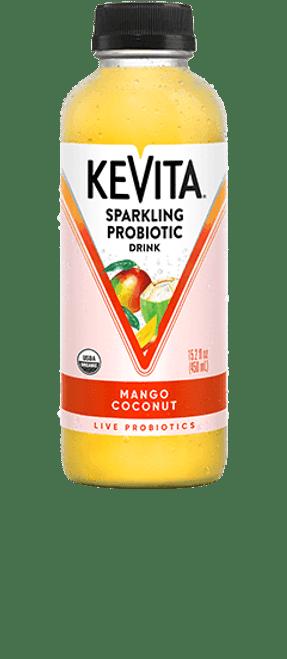 PROBIOTIC DRINK, MANGO COCONUT, Kevita, 15.2 fl oz