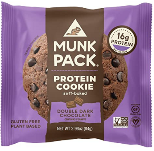 COOKIE, DBL DARK CHOCOLATE, Munk Pack 2.96 OZ