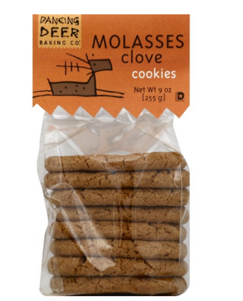 COOKIES, MOLASSES CLOVE, Dancing Deer, 8 pk 9 oz