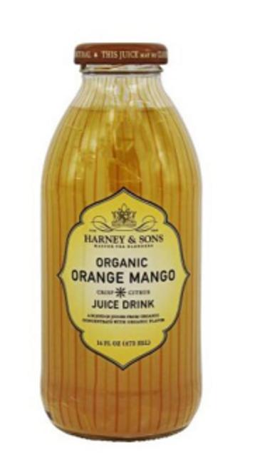 DRINK, ORANGE MANGO JUICE,  ORGANIC, Harney & Sons - 16 fl oz