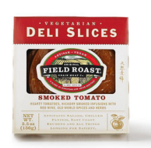 DELI SLICES, VEGAN, SMOKED TOMATO, Field Roast,  5.5 oz