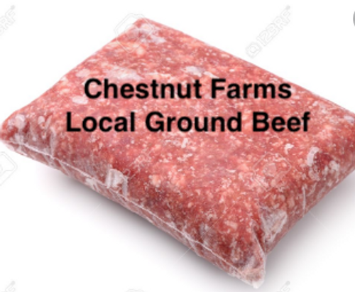 BEEF, Ground Beef, LOCAL,   1 lb