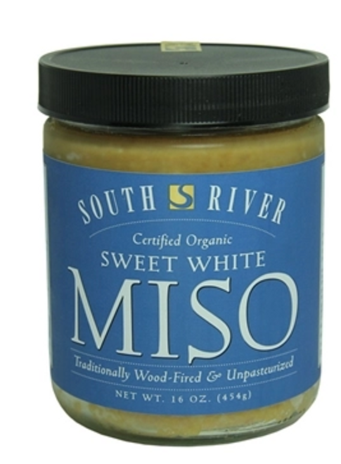 MISO, SWEET WHITE, Organic. South River, 16 oz