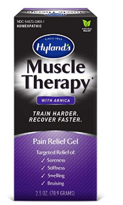 MUSCLE THERAPY GEL, W/ARNICA, Hyland's   2.5 oz