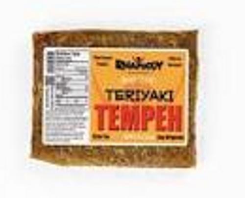 *OVERSTOCK SALE* TEMPEH, TERIYAKI, Rhapsody Natural Foods - 8 oz frozen Reg $5.99